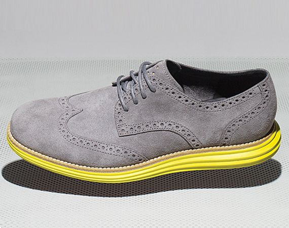 Cole Haan wingtips with Nike Lunarlon, could see these as nice everyday  shoes.