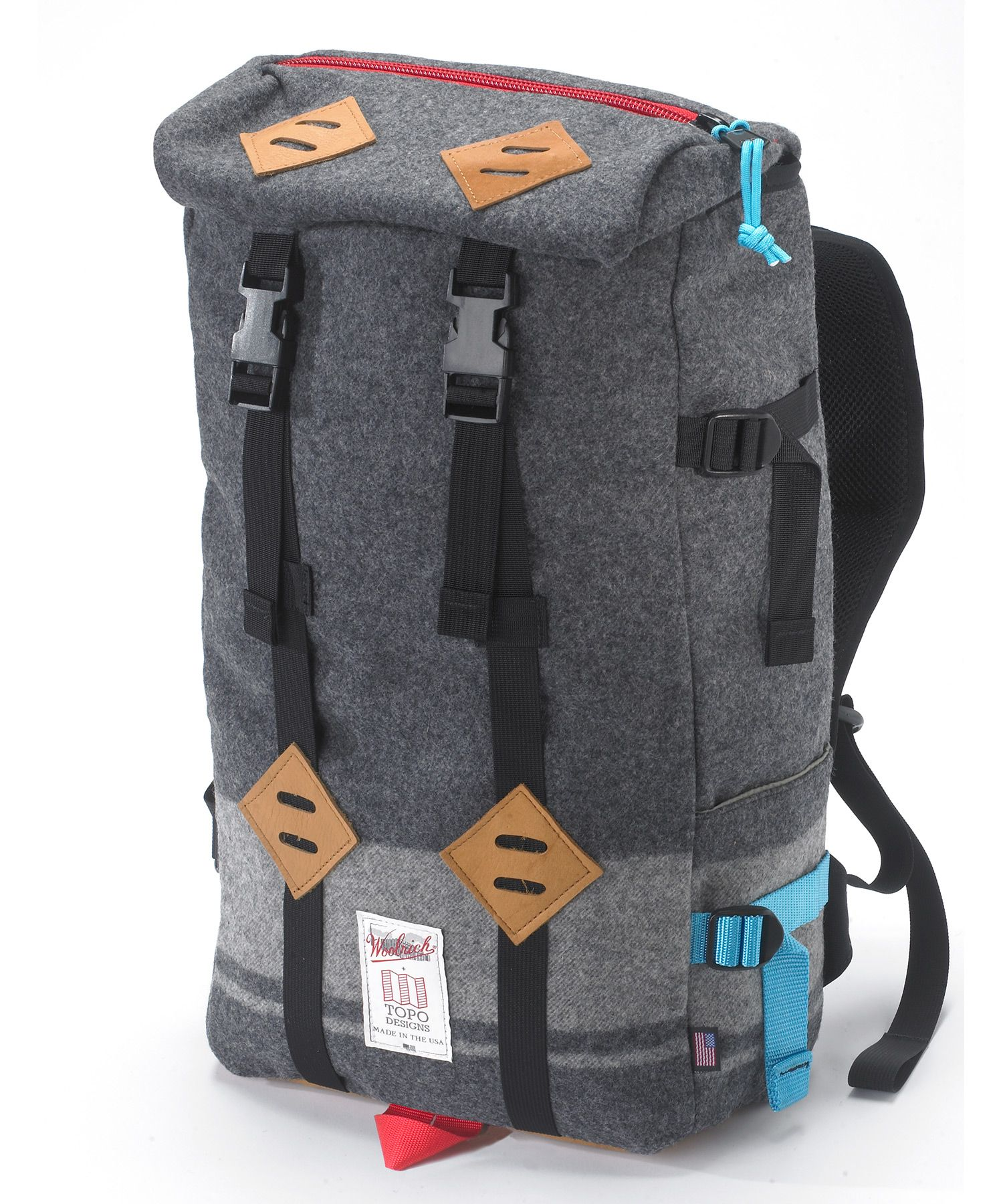 106b5322775c Woolrich Wool Klettersack Backpack Bags