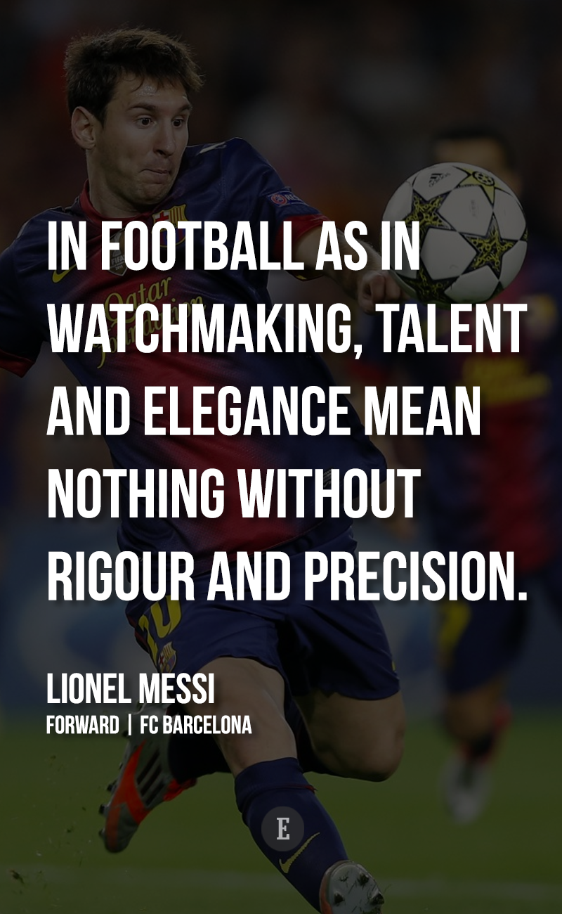 Talent means nothing without hard work. Quote by Lionel Messi