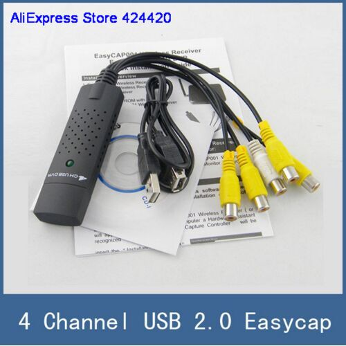 4CH USB VIDEO CAPTURE DONGLE DRIVERS FOR MAC DOWNLOAD