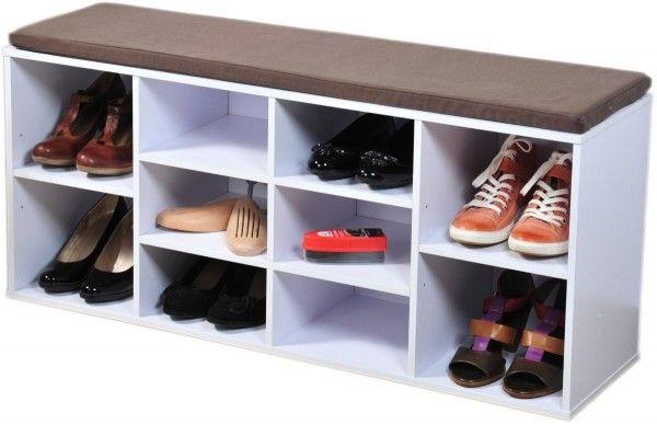 61 Idees Astuces Pour Le Rangement Des Chaussures Rangement Chaussures Banc De Rangement Rangement