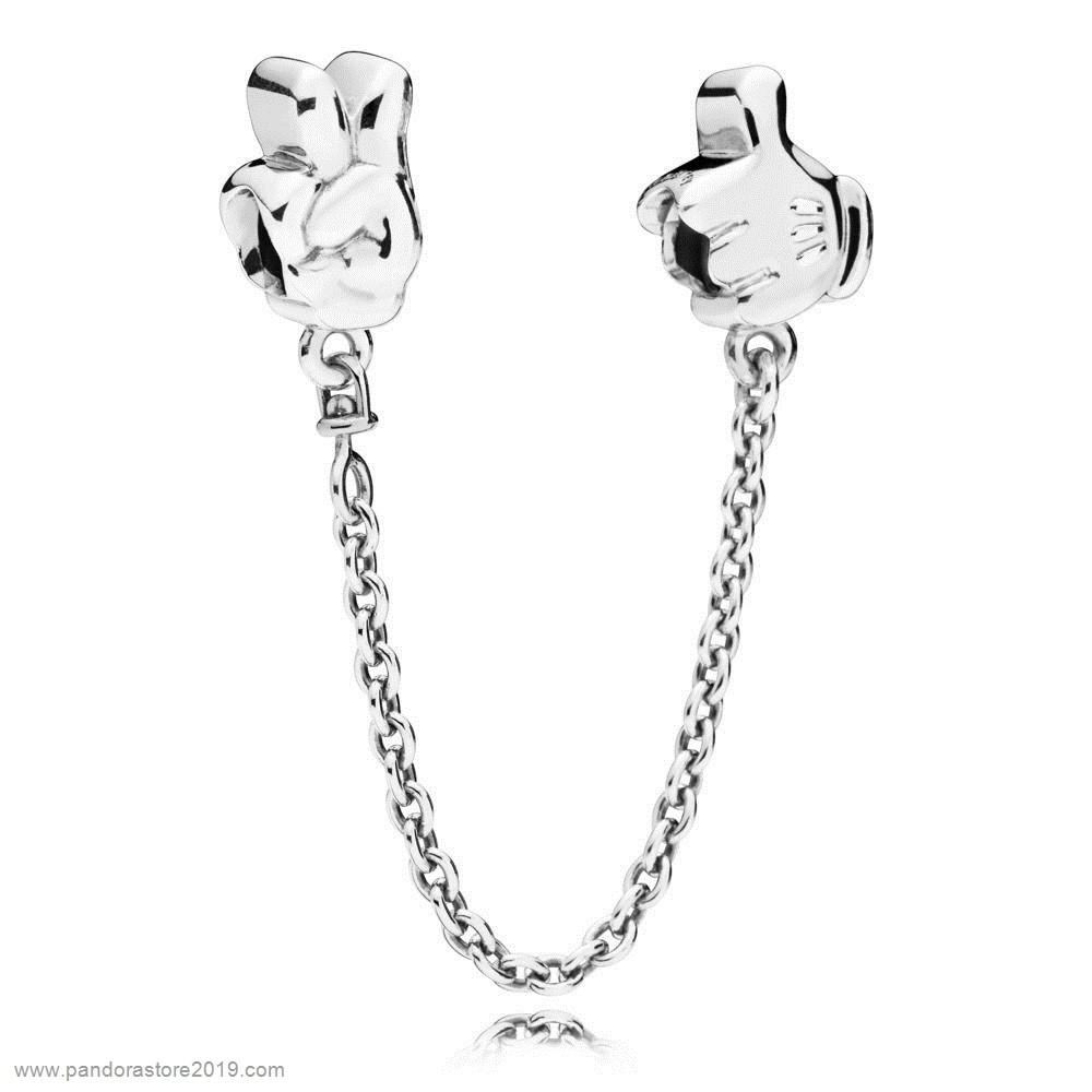 Promo Pandora Disney Mickey Gestures La Seguridad Chain