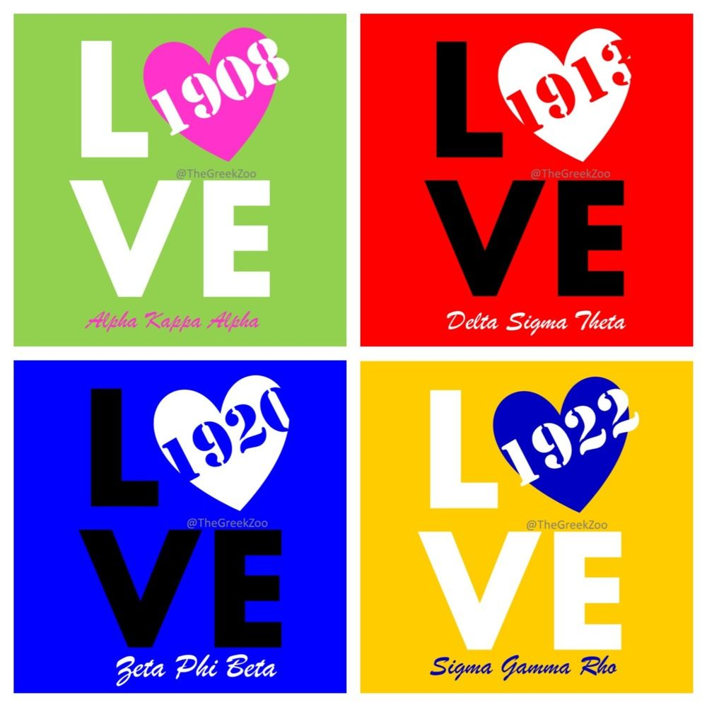 Nphc Sorority Love With Images Sorority And Fraternity Phi