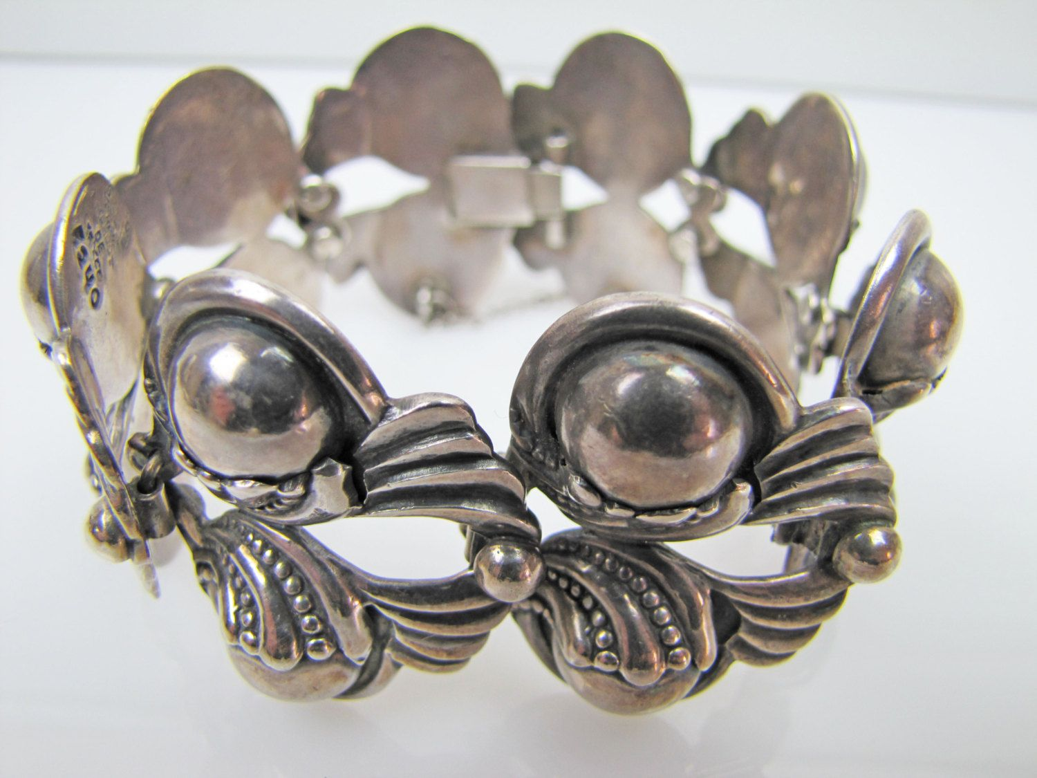 1940 S Vintage Margot De Taxco Sterling Silver Floral Etsy Mexican Silver Jewelry Mexican Jewelry Silver Jewelry