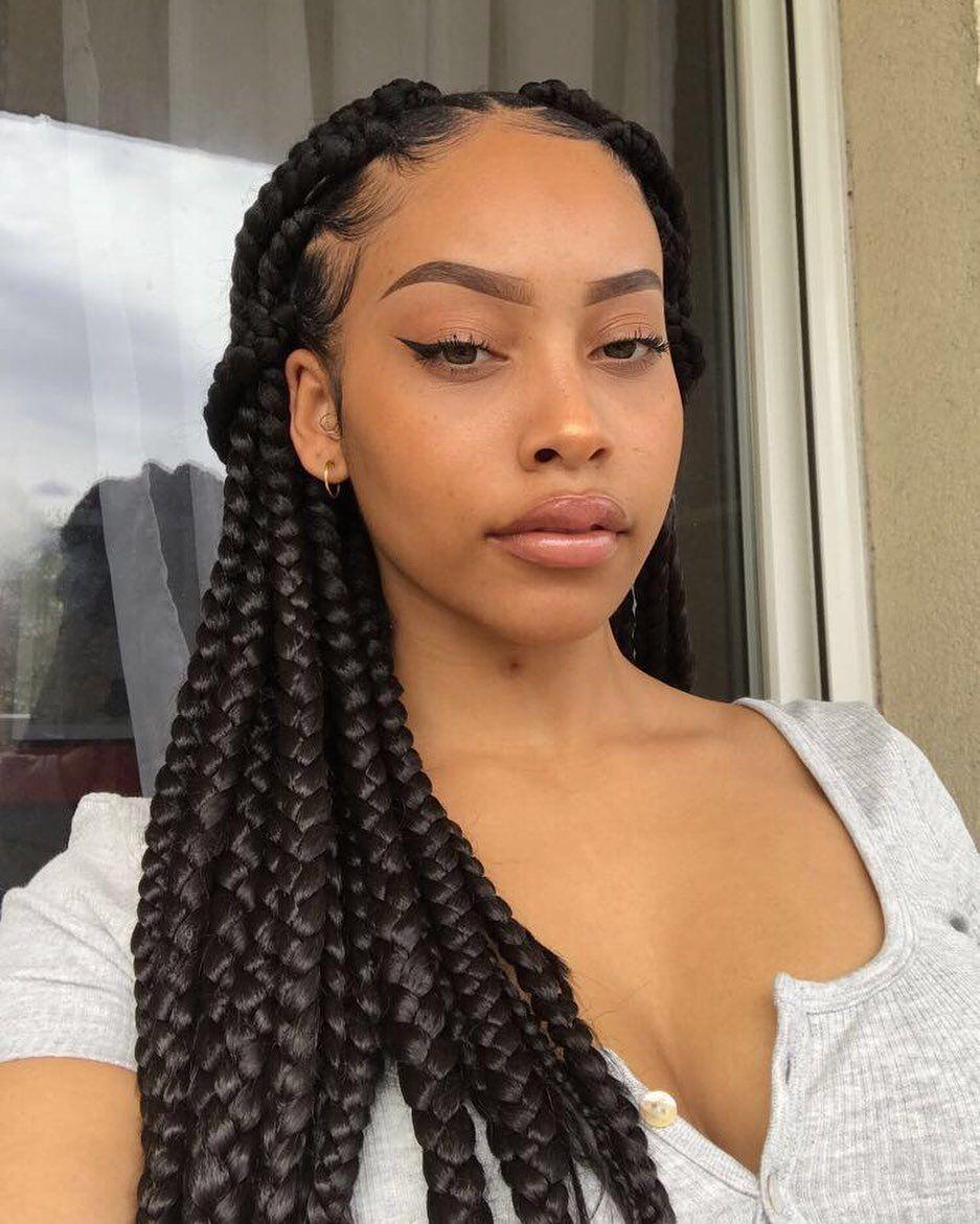 Karla Angel On Instagram Ma Meilleure Coiffure Que Maman Qui Fait Mes Bra Idee Coiffure Cheveux Crepus Coiffure Braids Model De Coiffure Africaine