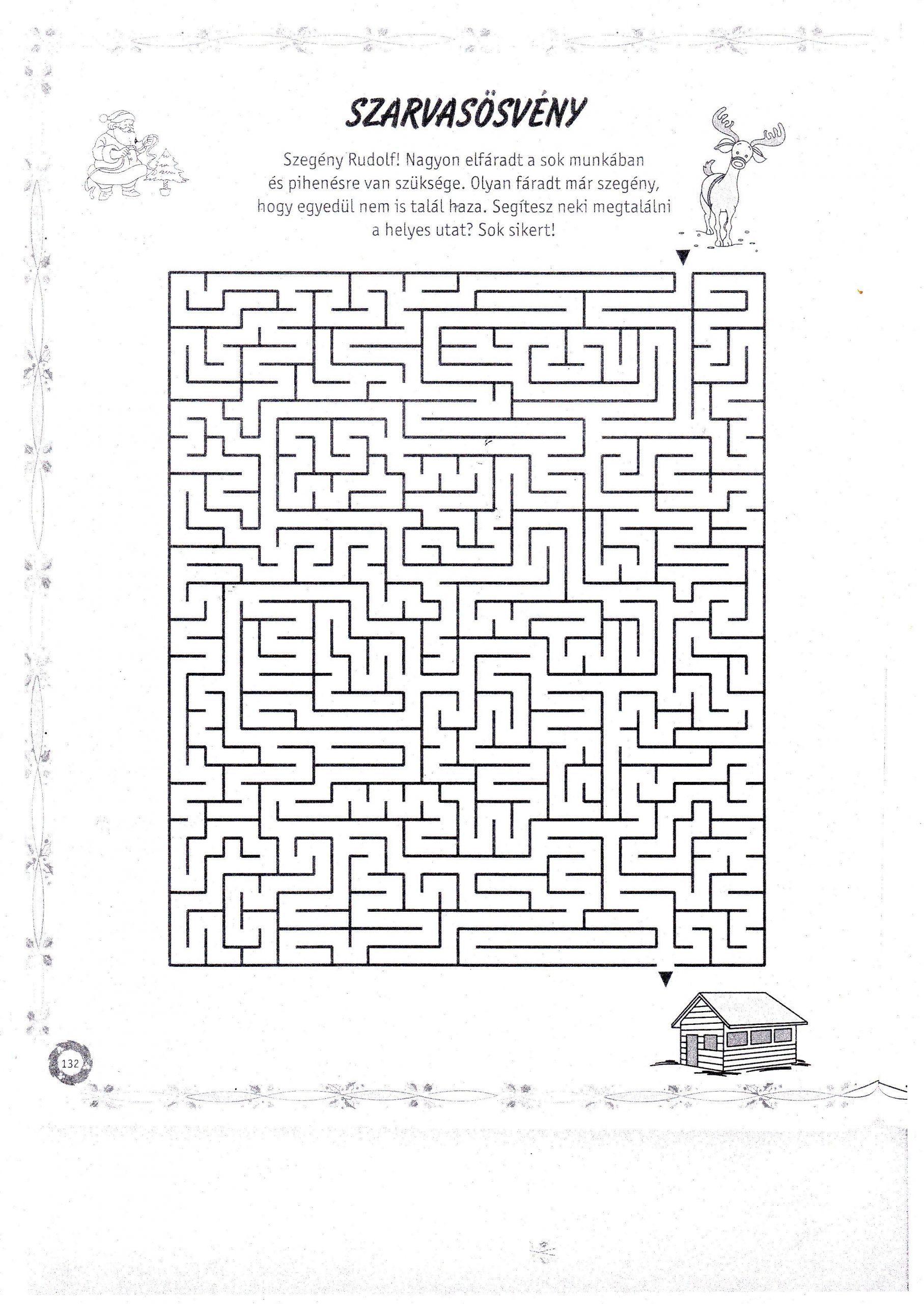 5 Formal Maze Worksheets In