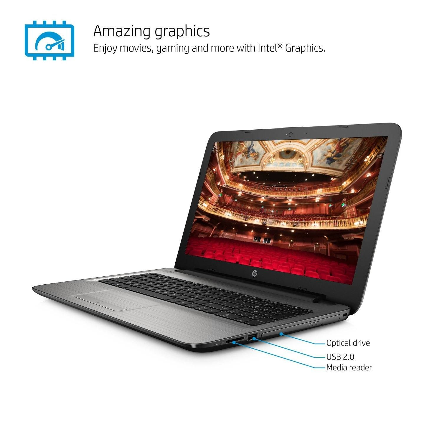 Dell Inspiron I7559 3762GRY 15.6 Inch Touchscreen Laptop (6th Generation  Intel Core I5, 8 GB RAM, 1 TB HDD + 8 GB SSD) NVIDIA GeForce GTX 960M |  Pinterest ...
