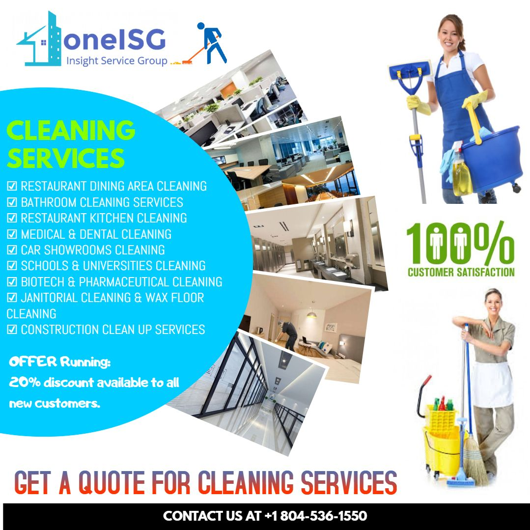 COMMERCIAL CLEANING SERVICES IN VIRGINIA BY INSIGHT SERVICE GROUP ...