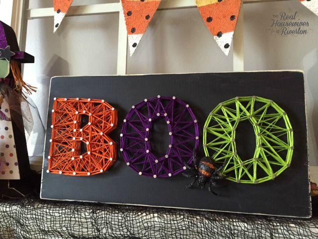 Halloween String Art | String art, Craft and Holidays