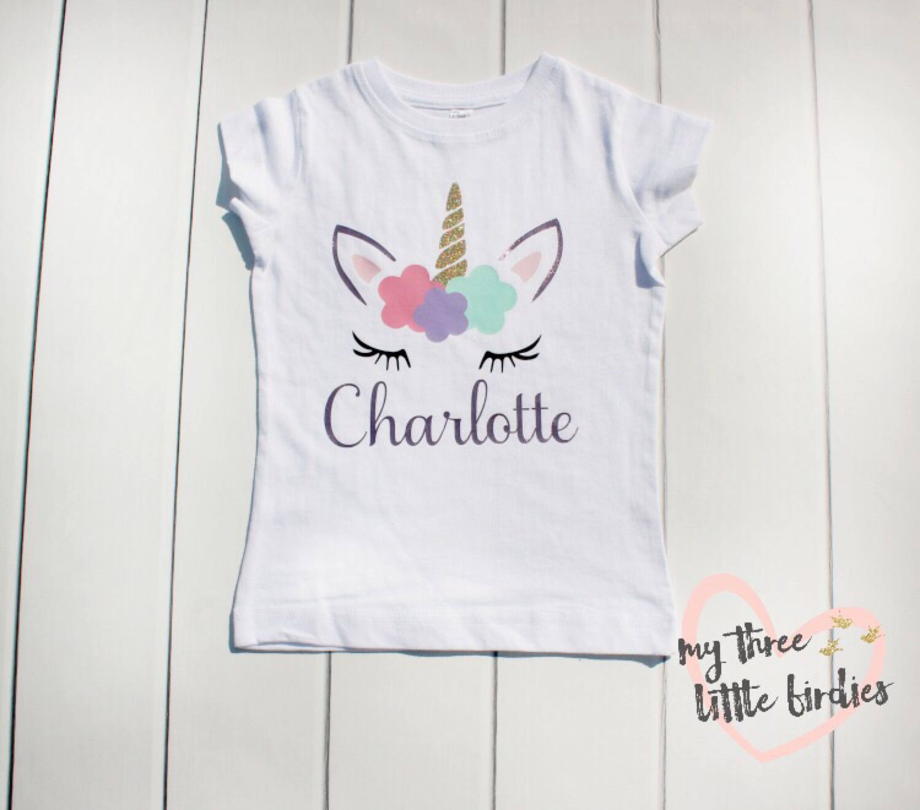 Personalized Birthday T Shirts Toddlers