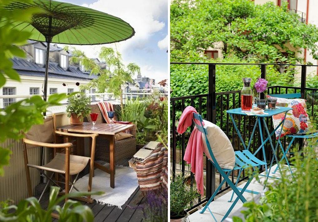 20 jolis petits balcons home balcony d co petit - Salon de jardin special balcon ...