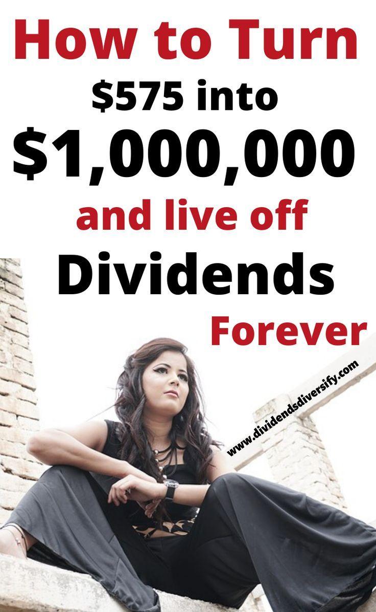 Wie man eine Million verdient und von Dividenden lebt