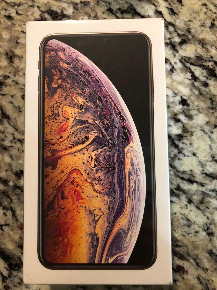 New In Box Sealed Apple Iphone Xs Max 512gb Gold Att