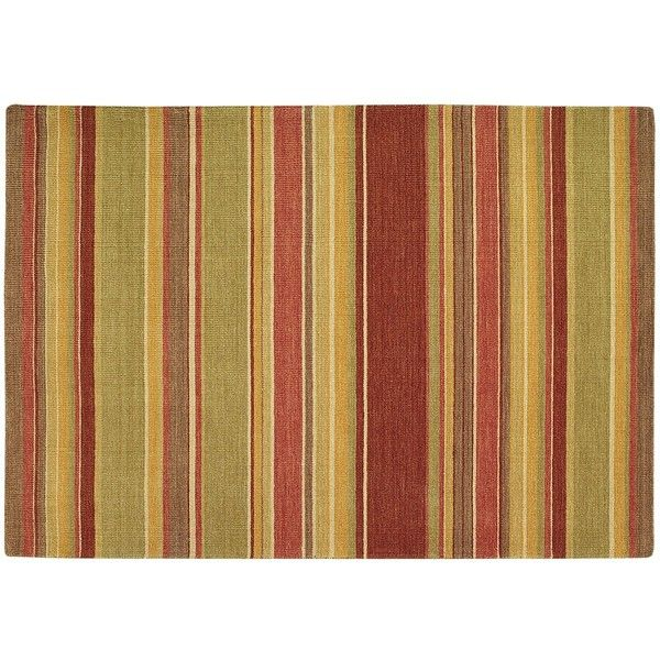 Pier 1 imports madras stripe rug 6x9 the home for Living room rugs 6x9