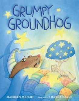 Grumpy Groundhog: A Picture Book by Maureen Wright