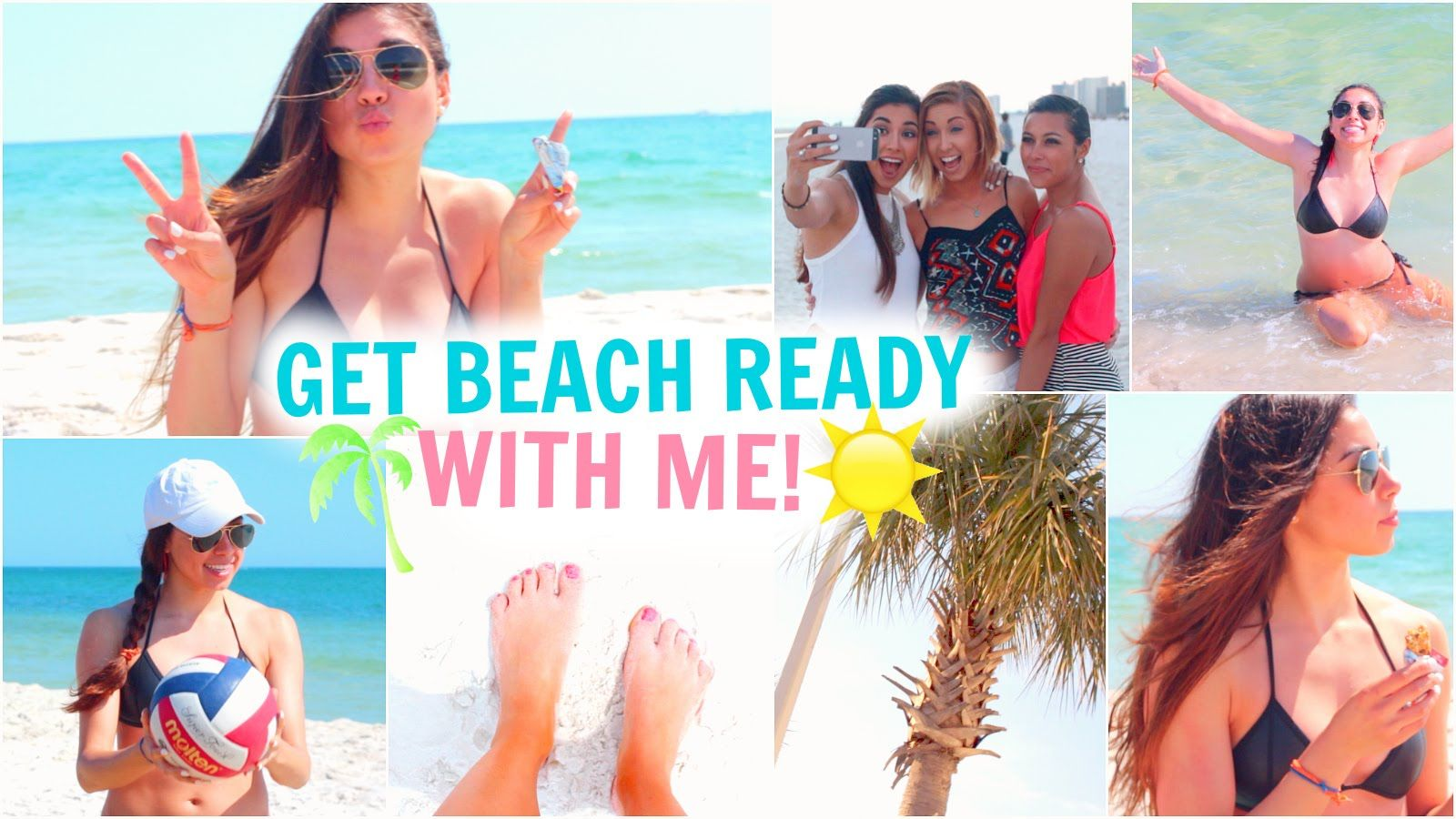 Get Beach Ready With Me! Summer Essentials, Makeup, Hair, Outfit, & Thin...