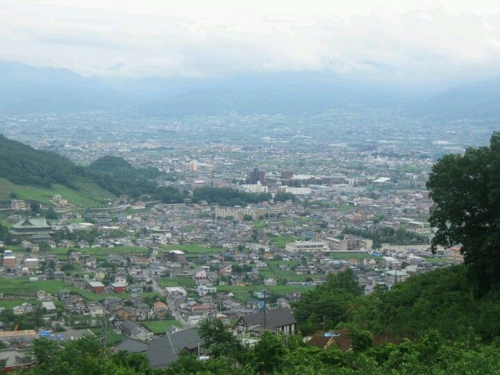 Yamanashi, Japan View from Science Center