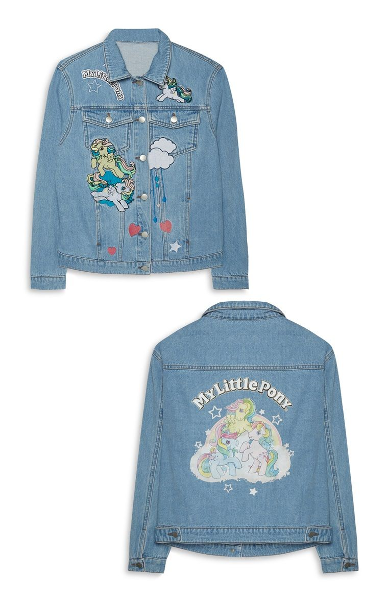 My Little Pony Embroidered Denim Jacket Primark £25 | fashion ...