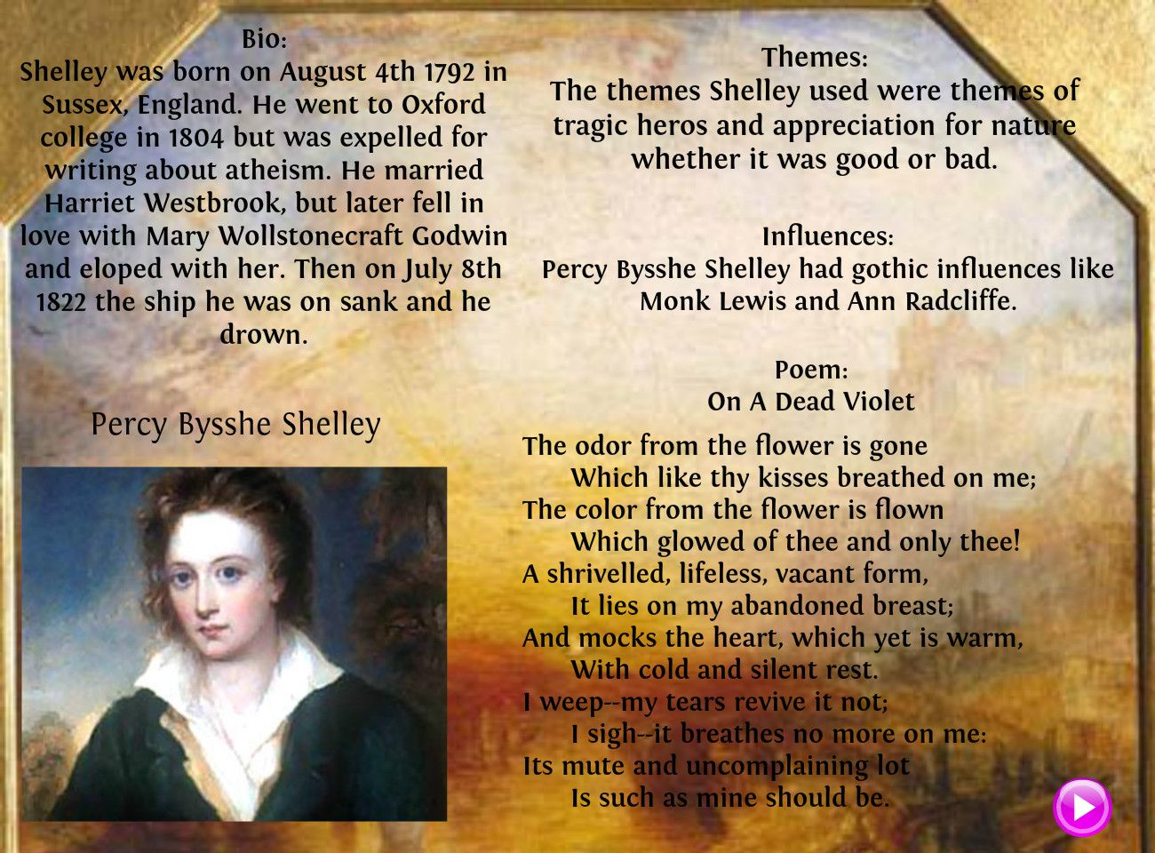 Percy bysshe shelley quotes quotesgram - Percy Bysshe Shelley Poems Google Search