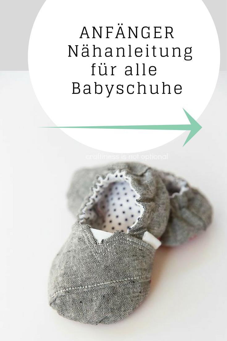 Mehrere Schnittmuster als PDF für Baby Mokassins zum selber nähen ...