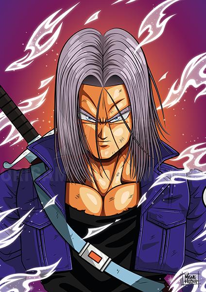 Mirai Trunks Dragon Ball Z Dessin Manga Et Fond Ecran Dbz