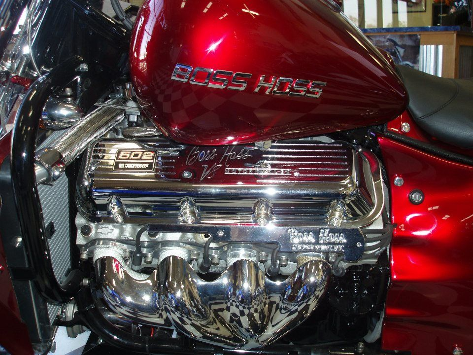 Boss Hoss Boss Hoss Custom Built Motorcycles Monster Bike