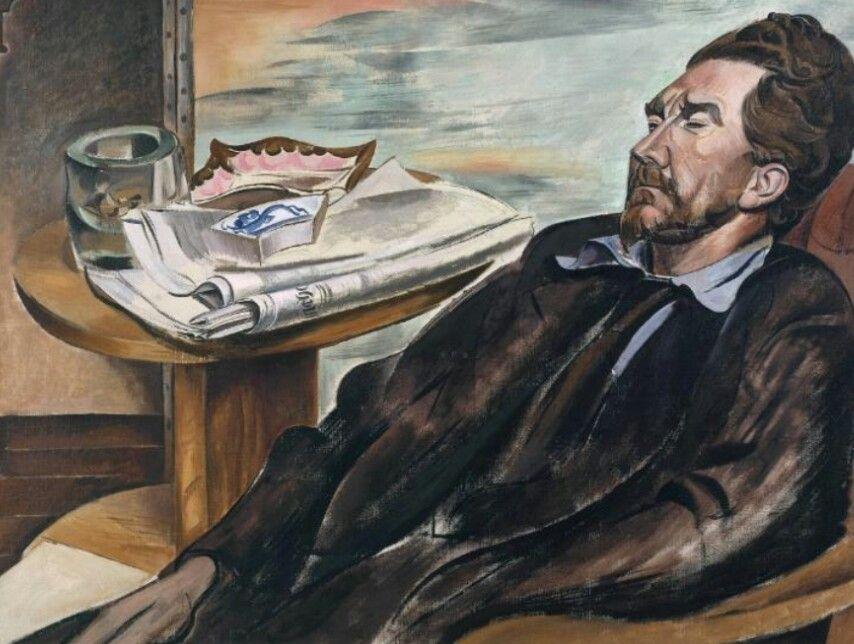 Ezra Pound. 1939. Tate Gallery. Londra. Wyndham Lewis (1882-1957)