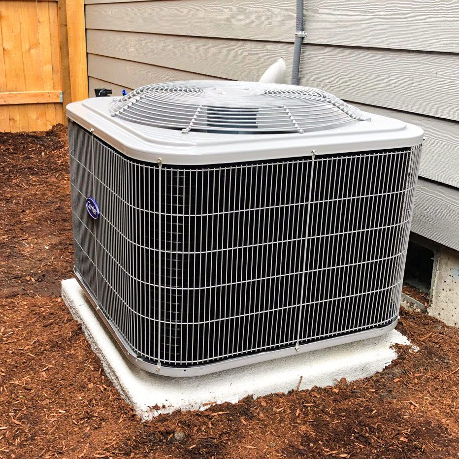 Check Out This Carrier Heatpump Install We Finished This Week
