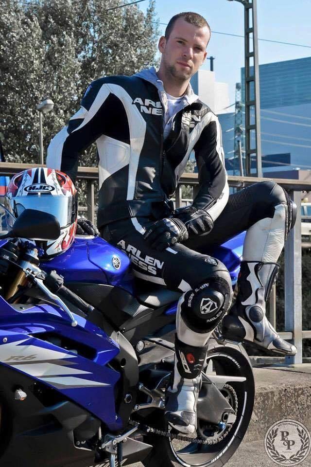 gay motorcycle rider