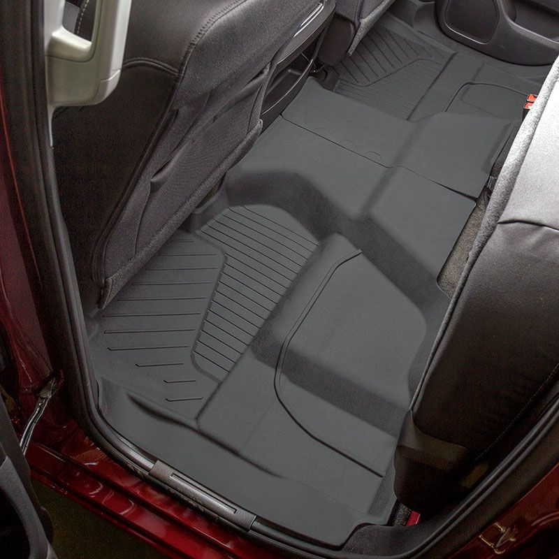 Premium Floor Liners Take All Weather Floor Mat Coverage Even