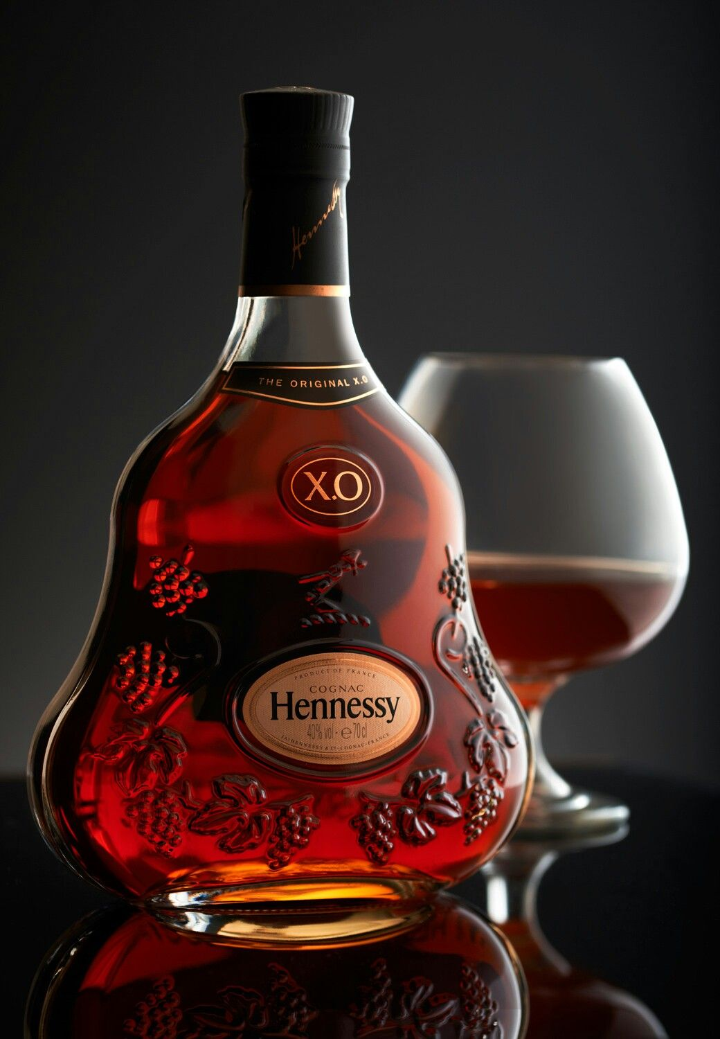 Hennessy Xo Liquor Bottles Alcoholic Drinks Food Photography Background