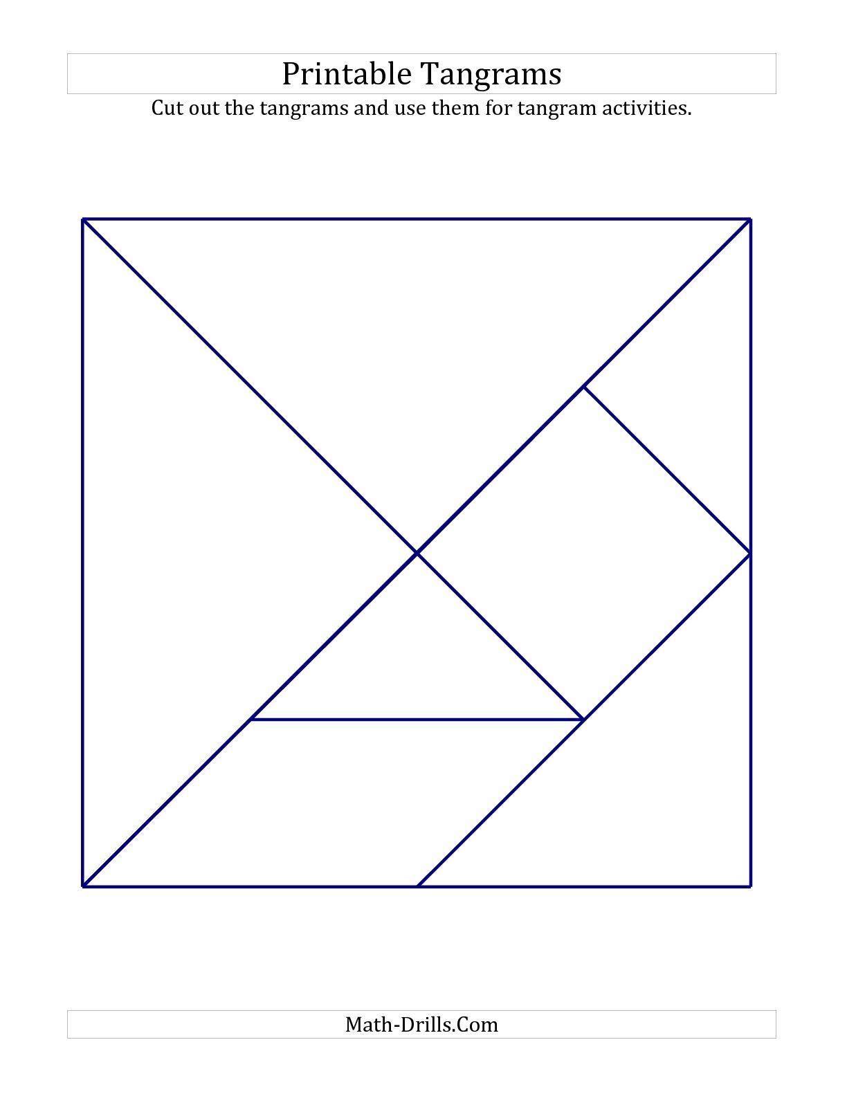 Tangrams 001 Pin