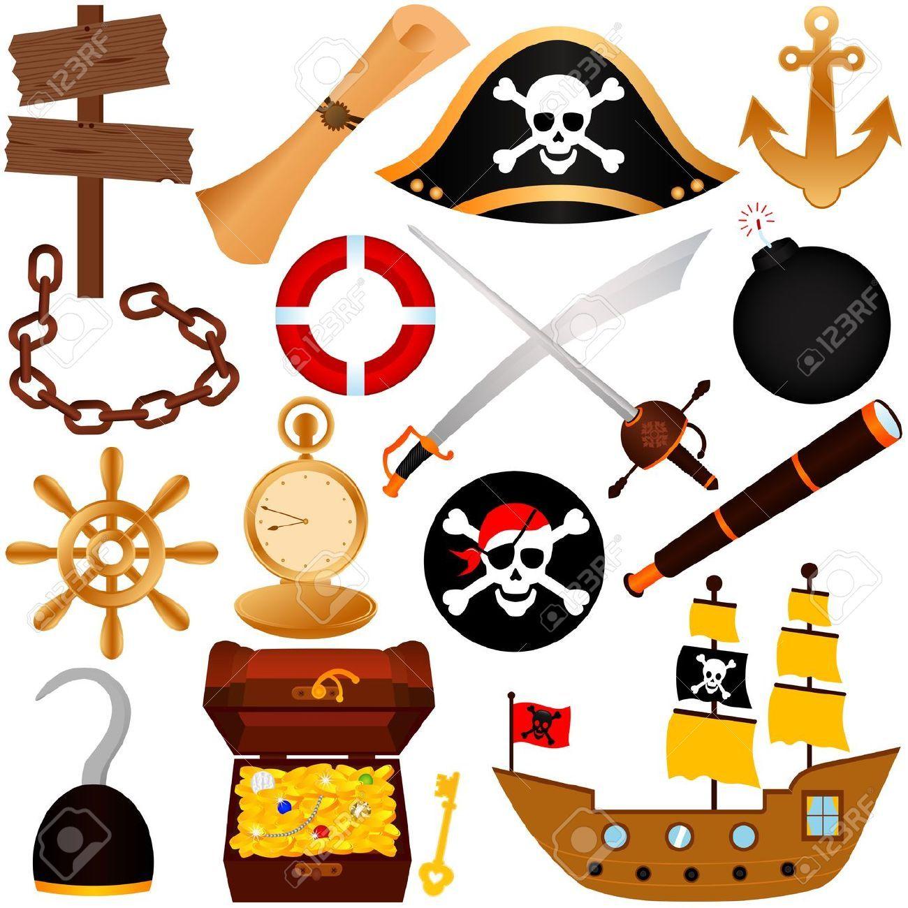 12184940-Un-tema-de-vectores-de-colores-de-los-Piratas-los-equipos ...