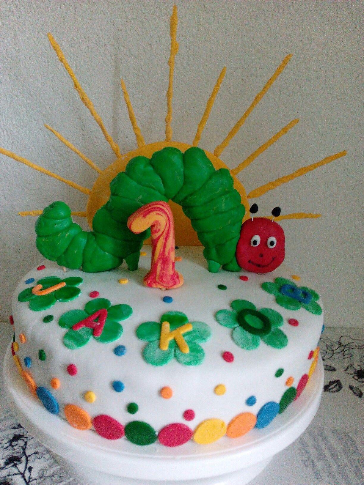 Raupe Nimmersatt Torte Raupe Nimmersatt Torte Raupe Nimmersatt Kuchen Kuchen