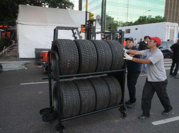 Los preparativos del Super TC 2000 en Buenos Aires.