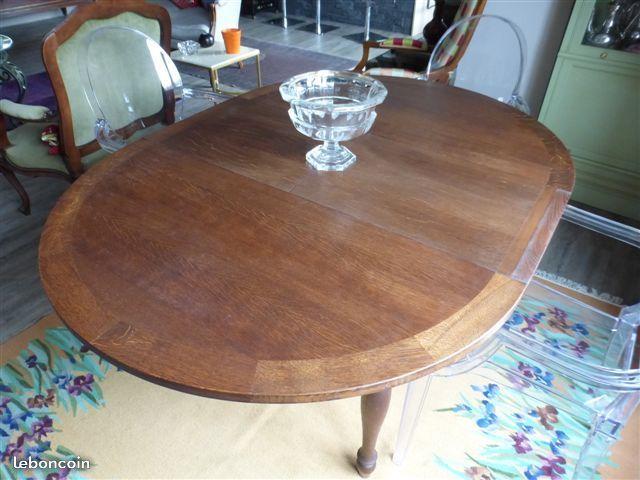 Table Ronde De Repas Avec Une Rallonge Meuble Table Ameublement