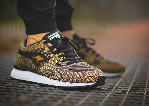 6ccf90593ecb http   yrt.bigcartel.com Kangaroos Coil R1 Woven Multicolor Best Sneakers
