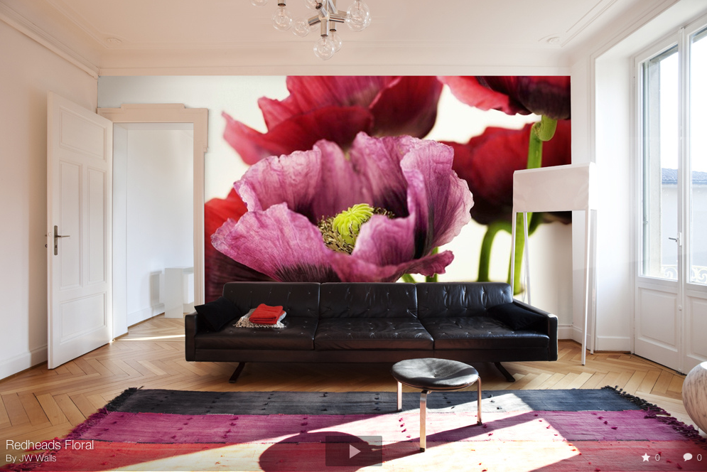 jw walls  create your own wallpaper  feature wall