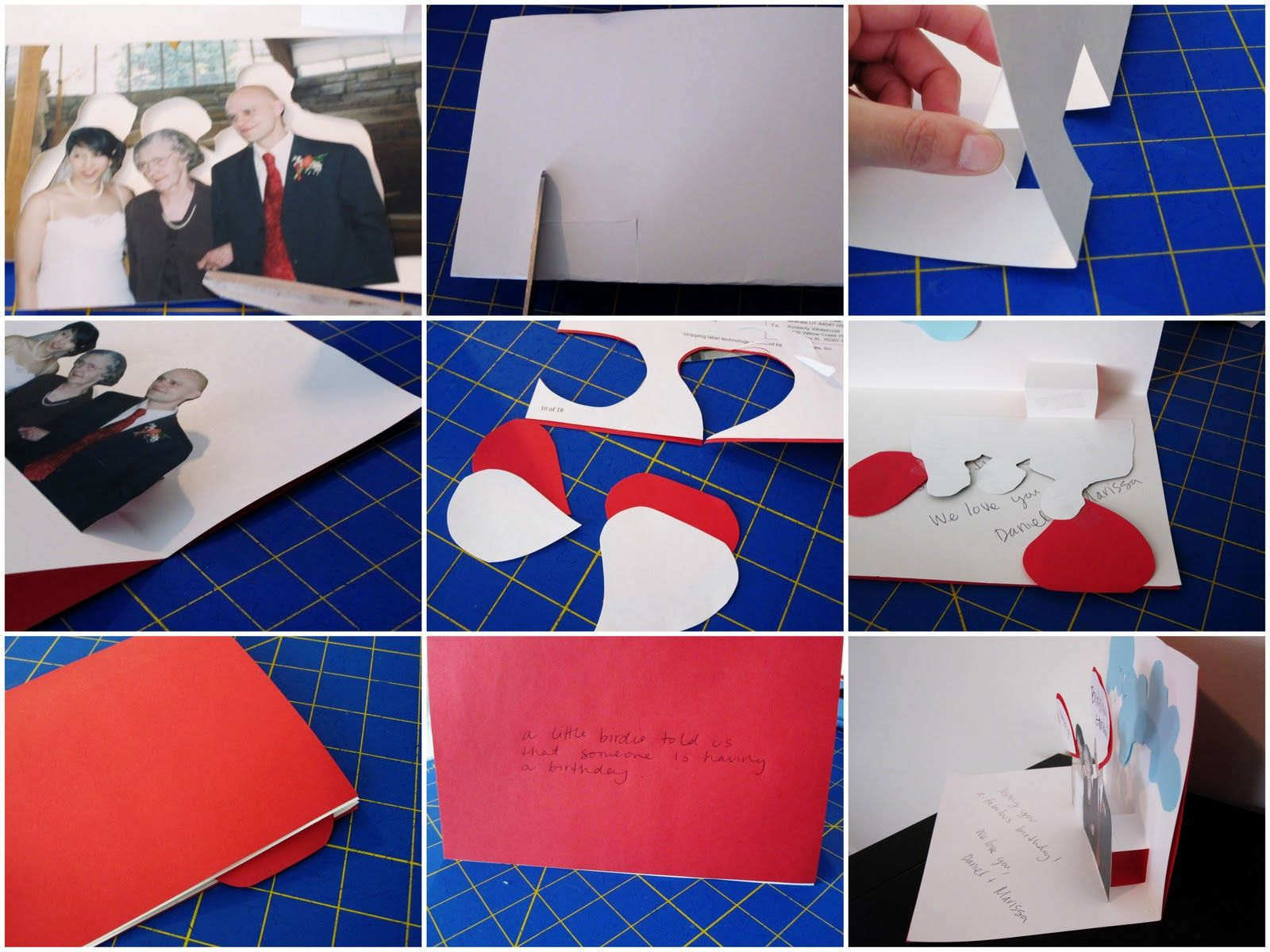 Card Making Ideas Tutorials Part - 50: Tutorial: Quick And Easy Pop Up Card