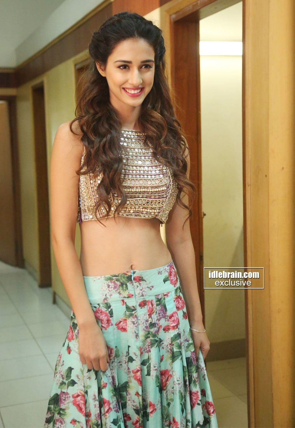 Disha Patani Hot In Loafer Audio Launch Sexy Navel And Melon