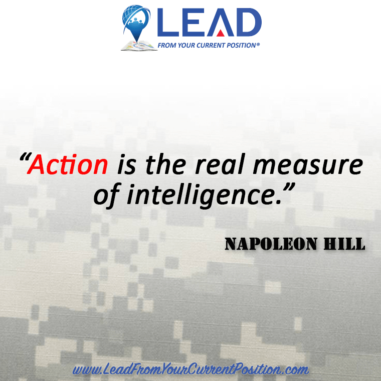 Action is the real measure