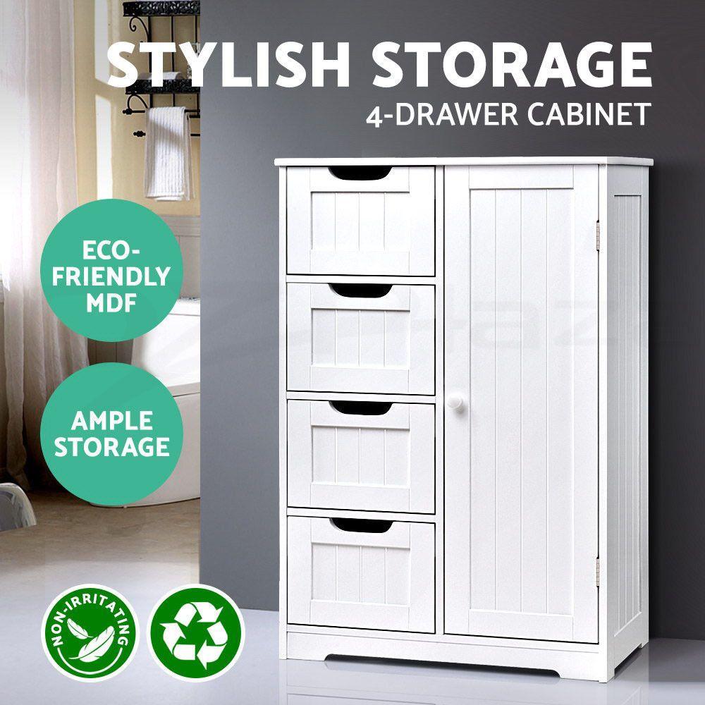 Details about Bathroom Storage Laundry Toilet