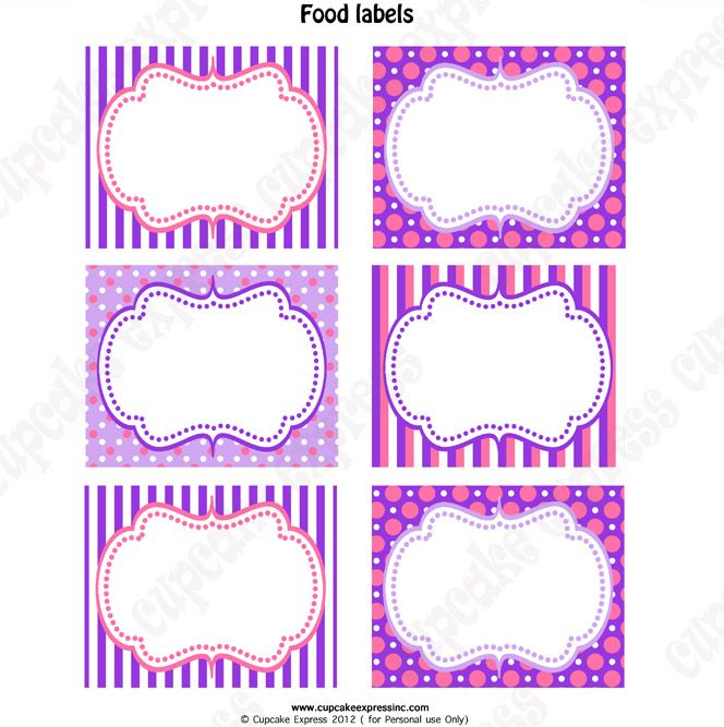 photo regarding Doc Mcstuffins Printable Labels titled Document McStuffins Meals Labels Document McStuffins Birthday in just 2019