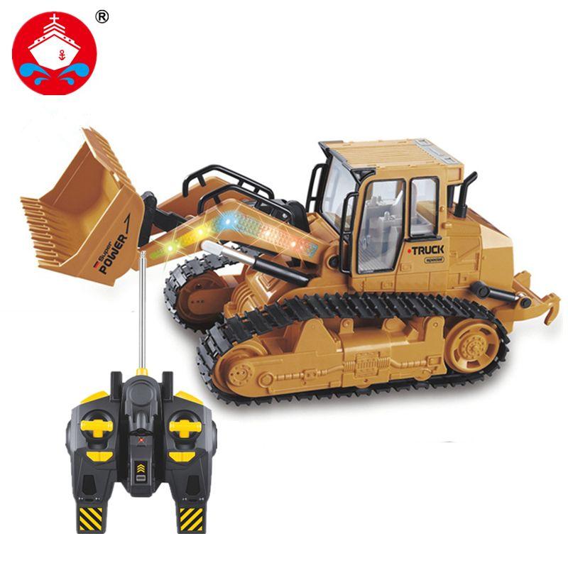 2017 new RC Truck 6CH Bulldozer Caterpillar Track Remote Control Simulation Gift