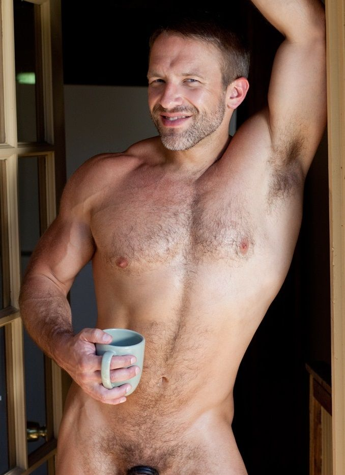 Naked mature man