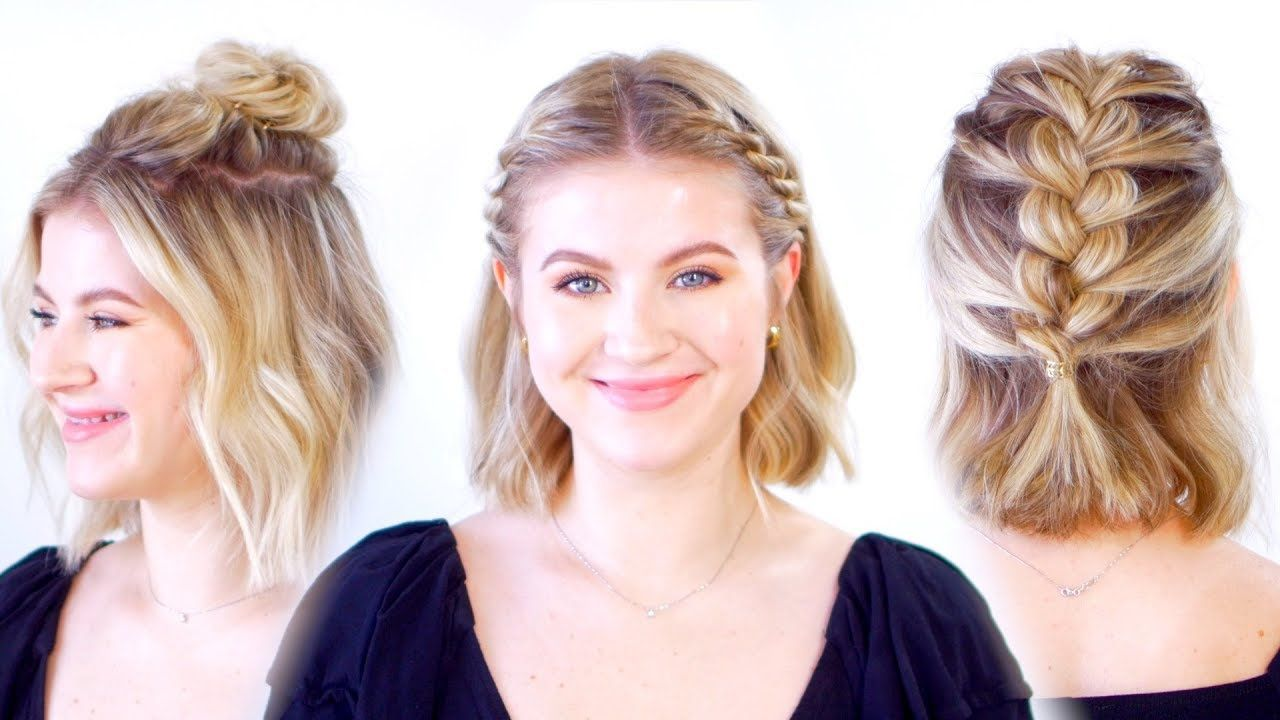 Top Cute Hairstyles To Do For Short Hair In 2020 Cute Hairstyles For Short Hair Short Hair Styles Easy Really Short Hair