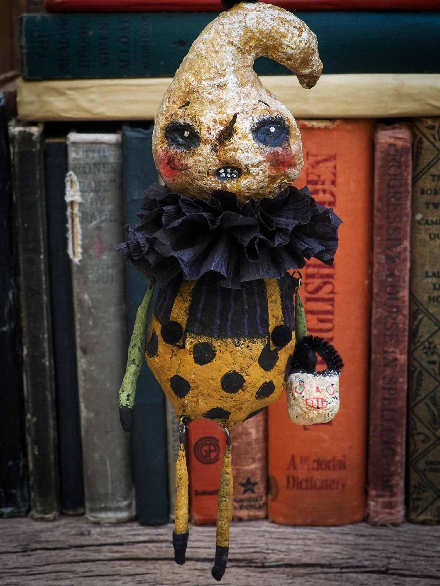 The ghost of halloween yet to come   Halloween art, Halloween, Art dolls