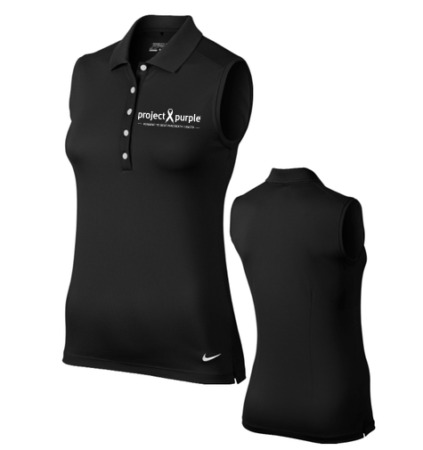 Nike Women's Project Purple Dri-FIT Sleeveless Polo