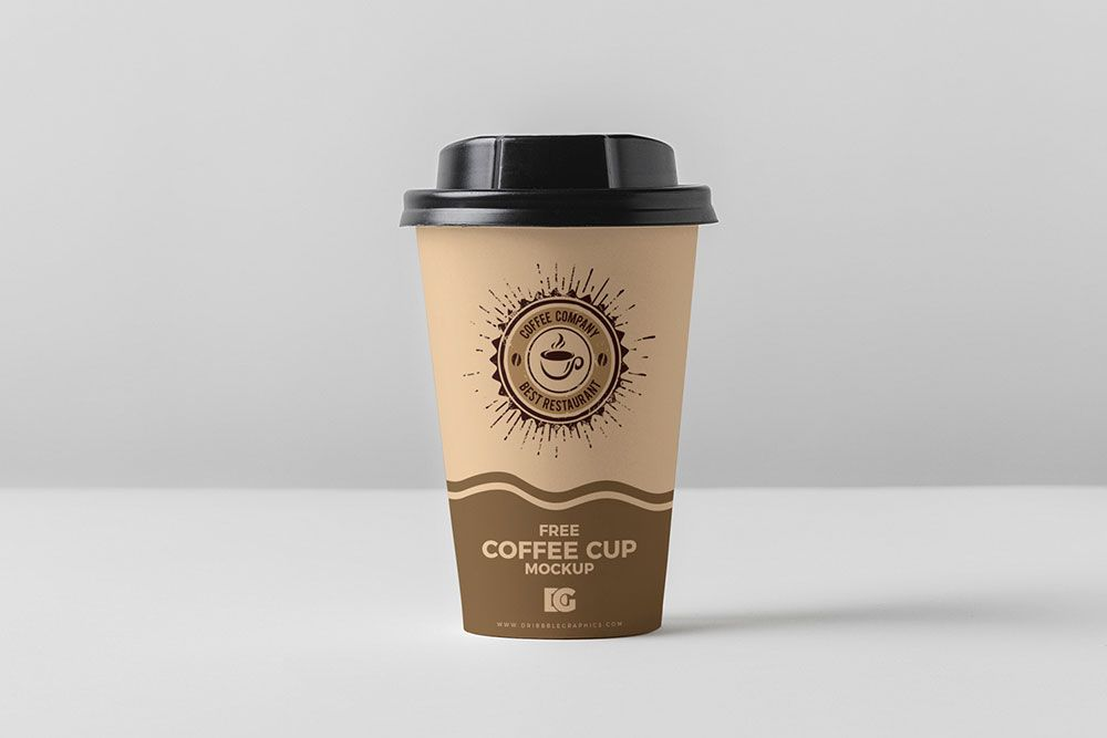 Free Coffee Cup Mockup For Branding | Coffee cups, Free
