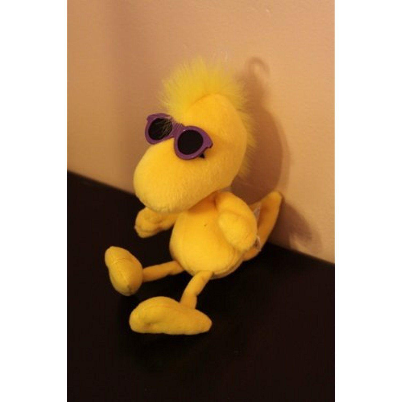 Peanuts Character Woodstock The Yellow Bird Wearing Sunglasses Plush